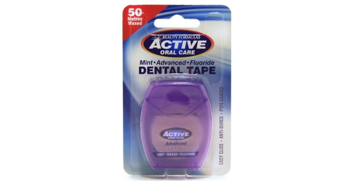 Beauty Formulas - Hilo dental menta + flúor - 50 metros