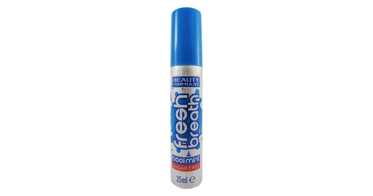Beauty Formulas - Cool Mint - Spray bucal Fresh Breath - 25ml