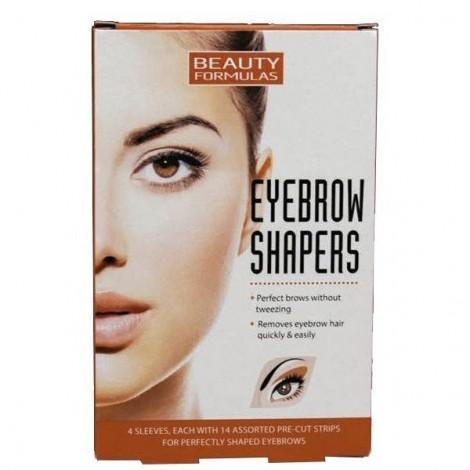 Beauty Formulas -Bandas depilatorias para cejas