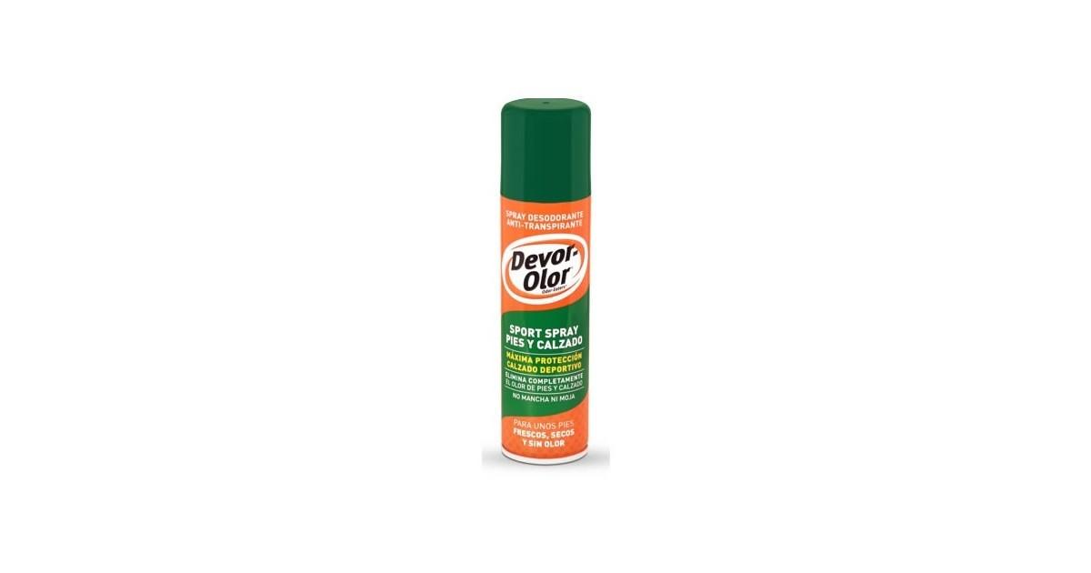 Devor-Olor - Spray Pies y Calzado Deportivo- Efecto refrescante