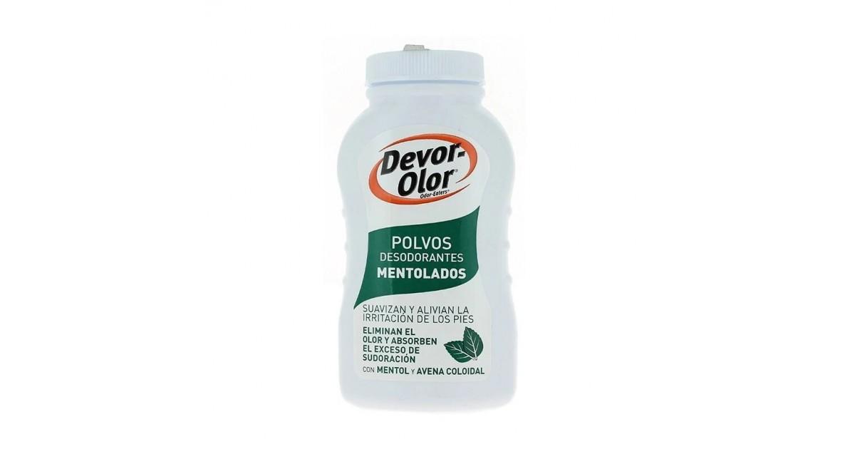 Devor-Olor - Desodorante en polvo para pies - Mentolados