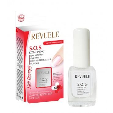 Revuele - Nail Therapy SOS Complex - Tratamiento para uñas débiles