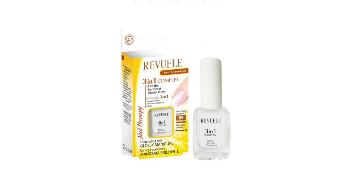 Revuele - Complejo para uñas 3 en 1