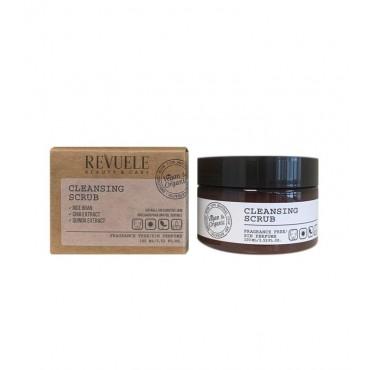 Revuele - Vegan & Organic - Exfoliante facial limpiador