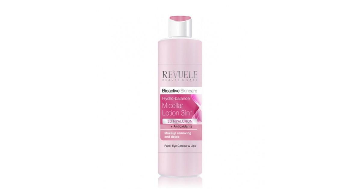 Revuele - Bioactive Skincare - Loción micelar 3 en 1
