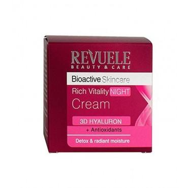 Revuele - Bioactive Skincare - Crema de noche revitalizante Rich Vitality