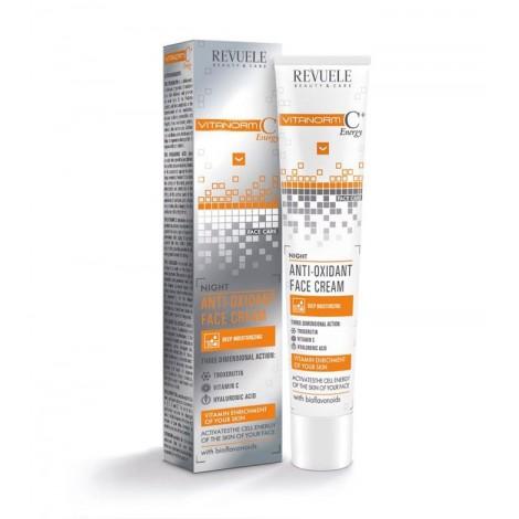 Revuele - Vitanorm C+ - Crema antioxidante de noche