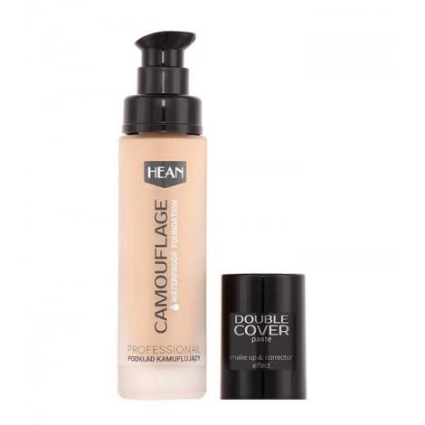 Hean - Base de maquillaje waterproof Camouflage Double Cover - P02