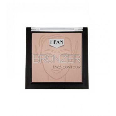 Hean - Bronceador en polvo Bronzer Pro-Contour - 400: Cappucino