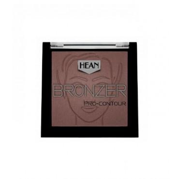 Hean - Bronceador en polvo Bronzer Pro-Contour - 405: Choco Noir
