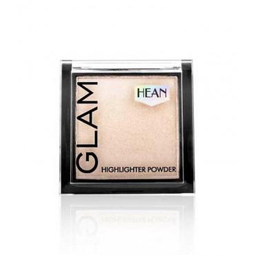 Hean - Iluminador en polvo Glam Highhlighter - 204: Gold Glow