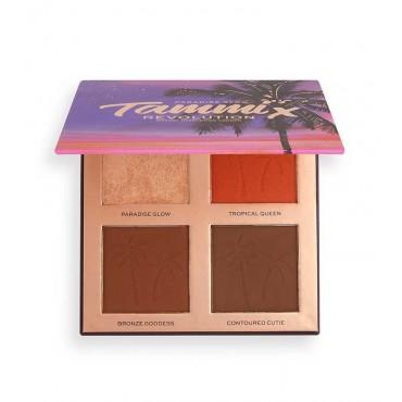 Revolution - *Tropical Twilight Collection* - Paleta de rosro X Tammi - Paradise Glow