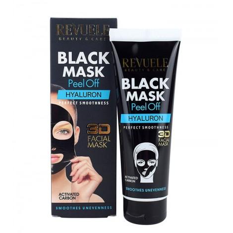 Revuele - Mascarilla negra de carbón activo Peel-off - Ácido hialurónico - 80ml