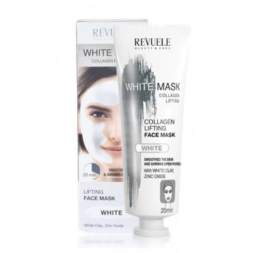 Revuele - Mascarilla facial blanca White Mask Collagen Express - 80ml