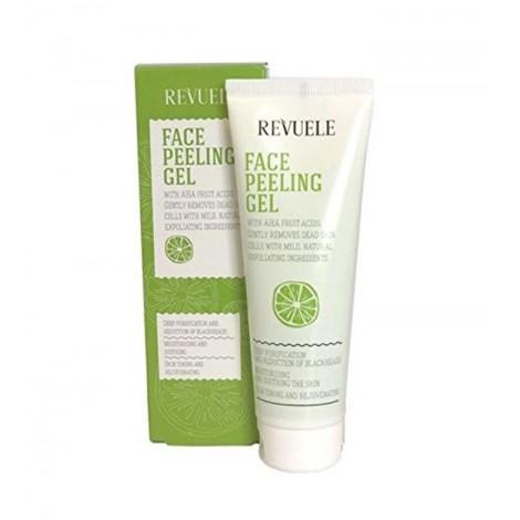 Revuele - Gel facial Peeling - Ácidos de frutas AHA - 80ml