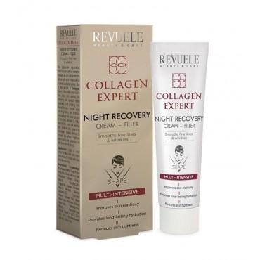 Revuele - Collagen Expert - Crema de noche rellenadora - 50ml