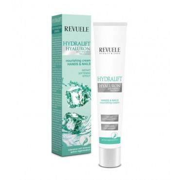Revuele - Hydralift Hyaluron - Crema nutritiva para manos y uñas - 50ml