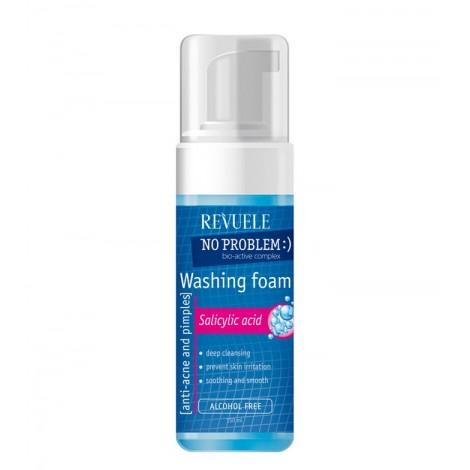 Revuele - No problem - Espuma Anti-acné y espinillas - Ácido hialurónico - 150ml