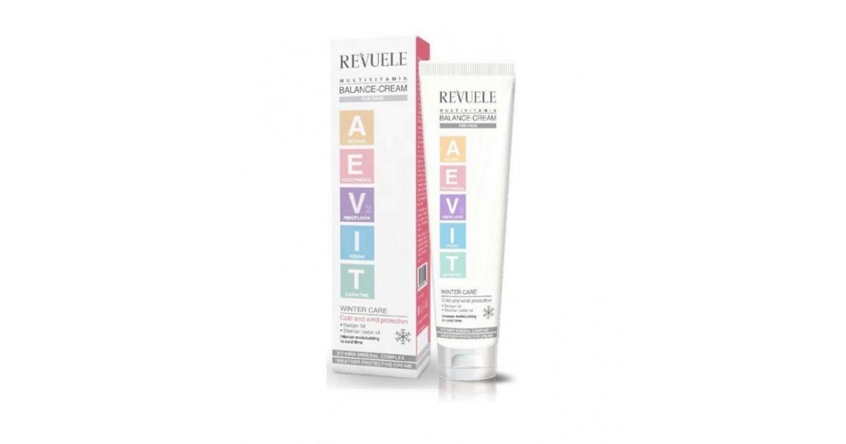 Revuele -  Aevit Multivitamin - Crema facial balanceadora - 75ml
