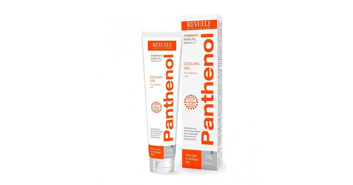 Revuele - Panthenol - Gel frío para quemaduras - 75ml