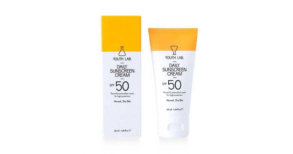 Youth Lab - Protector Solar Facial SPF 50 Con Color - Pieles Normales a Secas