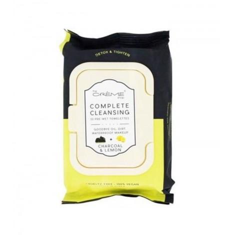 The Crème Shop - Toallitas Desmaquillantes 30 unidades - Carbón y Limón