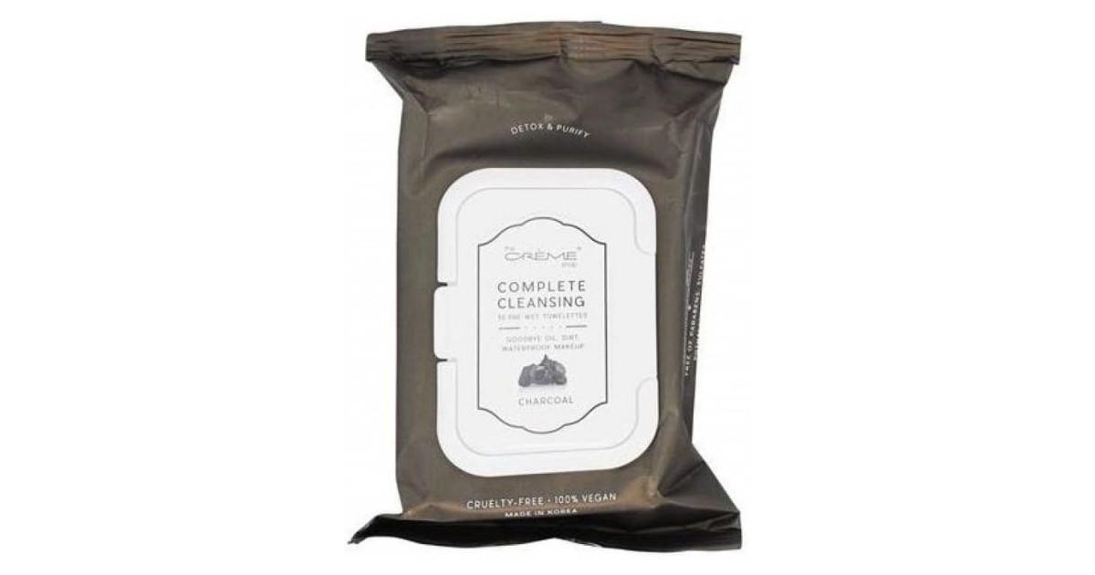 The Crème Shop - Toallitas Desmaquillantes 30 unidades - Carbón