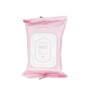 The Crème Shop - Toallitas Desmaquillantes 30 unidades - Agua de Rosas