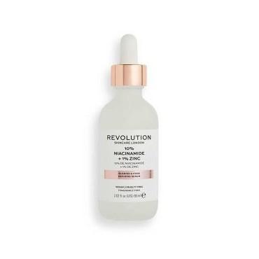 Revolution Skincare - Sérum minimizador de poros - 10% Niacinamida + 1% Zinc - 60ml