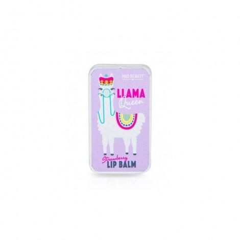 Mad Beauty - Bálsamo labial Llama Queen - Fresa
