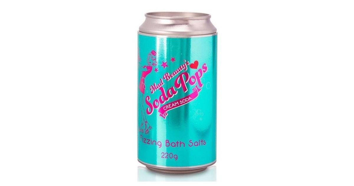 Mad Beauty - Sales de Baño efervescente Soda Pops - Soda Cream