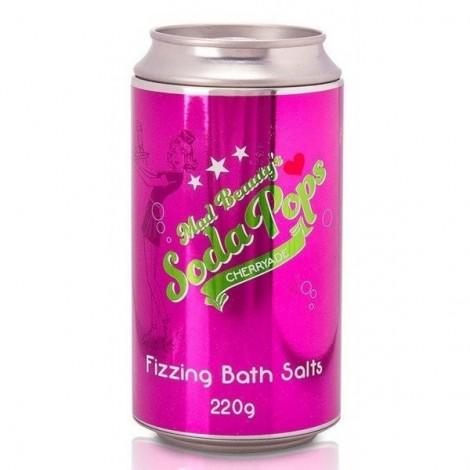 Mad Beauty - Sales de Baño efervescente Soda Pops - Cherryade