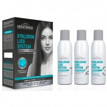 Be Natural - Kit Alisado Hyaluron Liss System