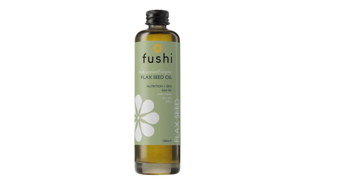 Fushi - Aceite de Semillas de Lino Orgánico Prensado en frío - 100ml