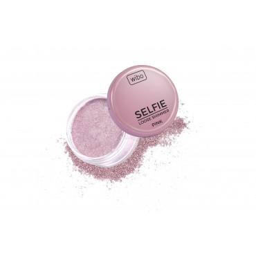 Wibo - Iluminador en polvo Selfie Loose Shimmer - Pink