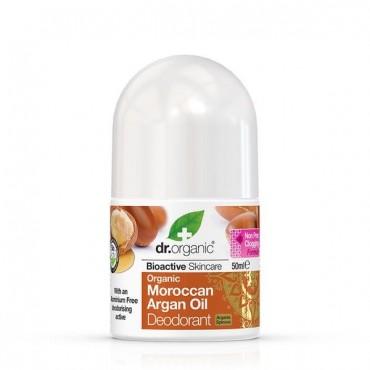 Dr Organic - Desodorante de aceite de Argán de Marruecos Orgánico
