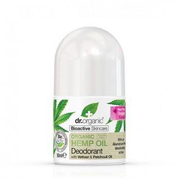 Dr Organic - Desodorante con Aceite de Cáñamo Orgánico