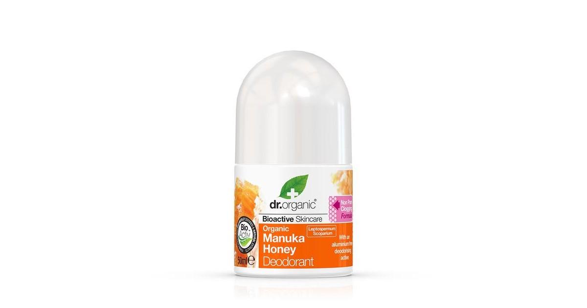 Dr Organic - Desodorante Roll On de Miel de Manuka Bio