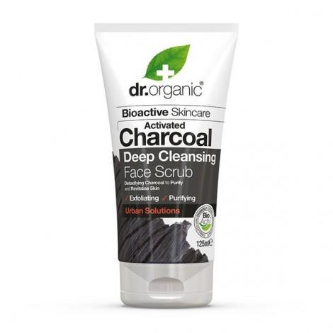 Dr Organic - Exfoliante facial con Carbón Activo - 125ml