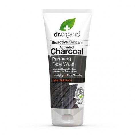 Dr Organic - Limpiador Facial Purificante de Carbón Activado - 200ml