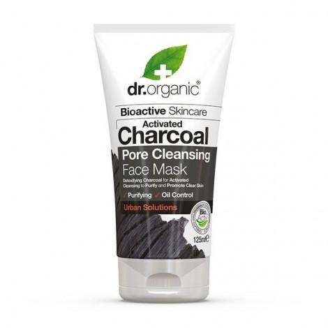 Dr Organic - Mascarilla Facial Limpiadora de Carbón Activo Bio - 125ml