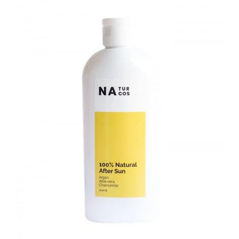 Naturcos - Loción After Sun 100% Natural - Argán, Aloe Vera y Camomila - 200ml