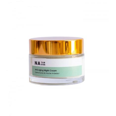 Naturcos - Crema Facial de Noche Antiedad - 50ml