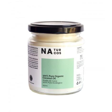 Naturcos - Aceite de coco ecológico 100% puro - 250ml