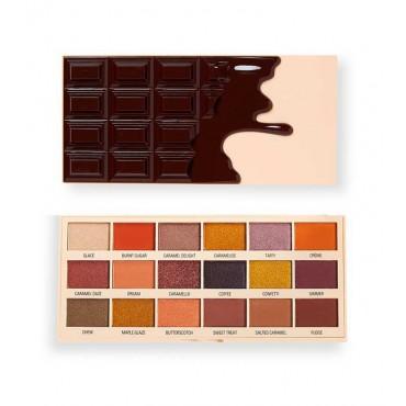 I Heart Revolution - Paleta de sombras Chocolate - Caramel Nudes