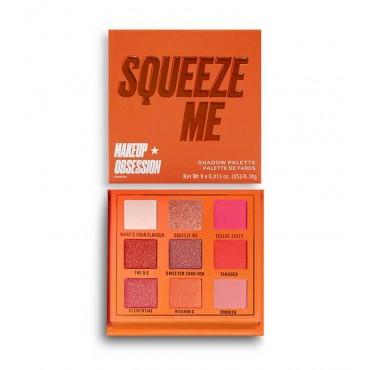 Makeup Obsession - Paleta de sombras Squeeze Me