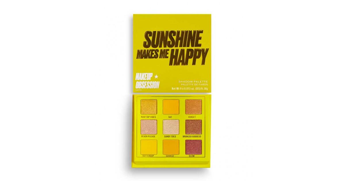 Makeup Obsession - Paleta de sombras Sunshine Makes Me Happy