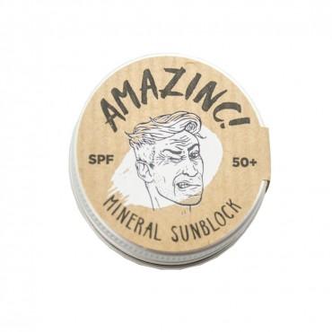 Amazinc - Protector solar mineral SPF 50 - 17gr