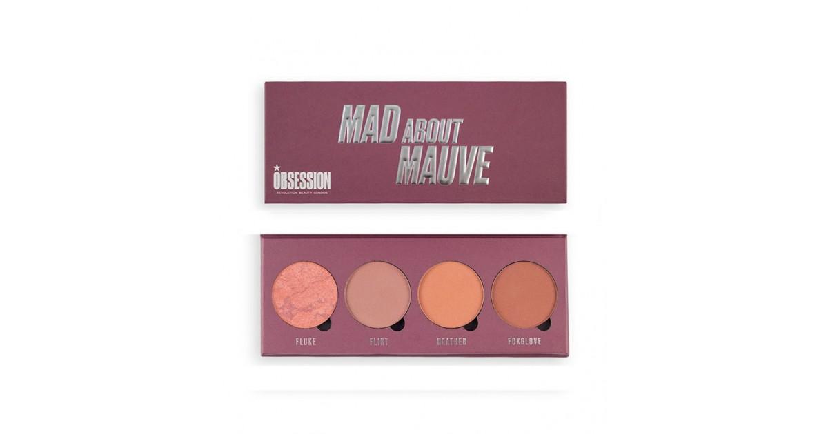 Makeup Obsession - Paleta de coloretes Mad about Mauve