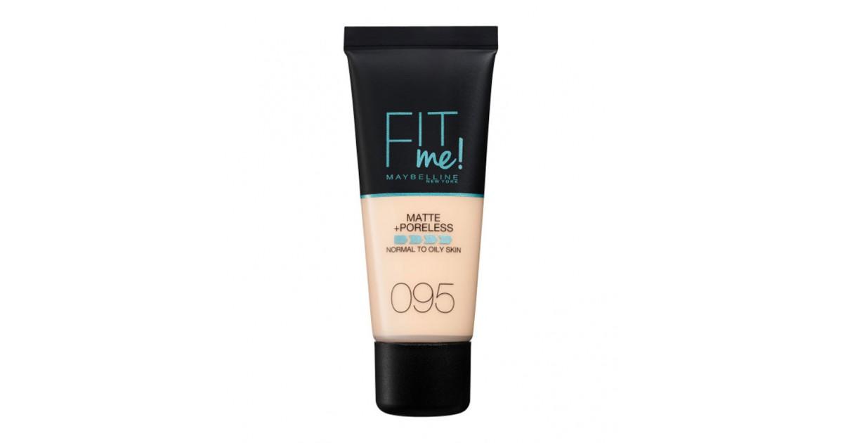 Maybelline - Base de Maquillaje Fit Me Matte + Poreless - 95: Fair Porcelain